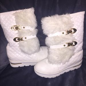 Fur Lined Fashion Boots